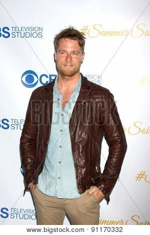 LOS ANGELES - MAY 18:  Jake McDorman at the CBS Summer Soiree 2015 at the London Hotel on May 18, 2015 in West Hollywood, CA