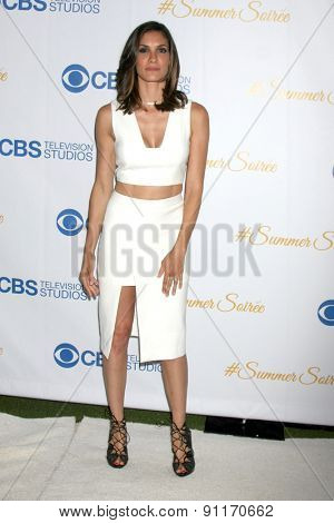 LOS ANGELES - MAY 18:  Daniela Ruah at the CBS Summer Soiree 2015 at the London Hotel on May 18, 2015 in West Hollywood, CA