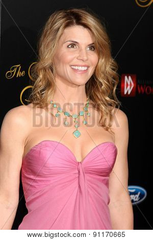 LOS ANGELES - MAY 19:  Lori Loughlin at the 40th Anniversary Gracies Awards at the Beverly Hilton Hotel on May 19, 2015 in Beverly Hills, CA