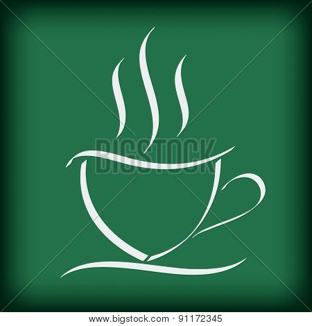 Coffee Cup Free Hand Drawing Doodle Vector Illustration