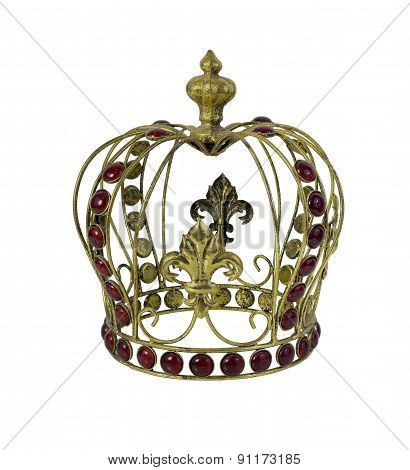 Red Gem Embellished Crown