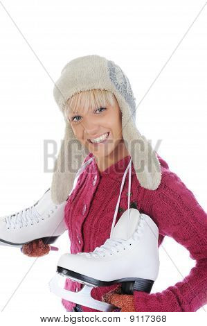 Girl With Skates