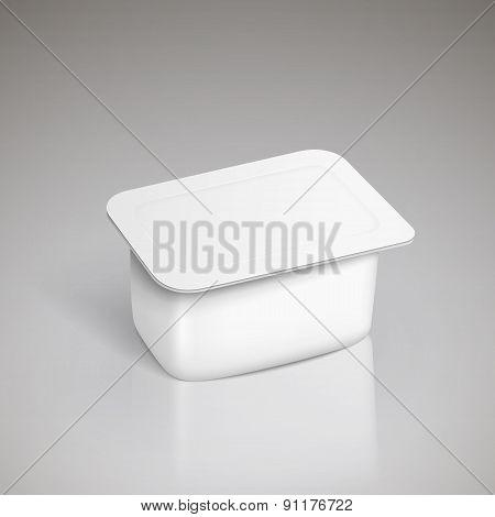 Tub Food Plastic Container