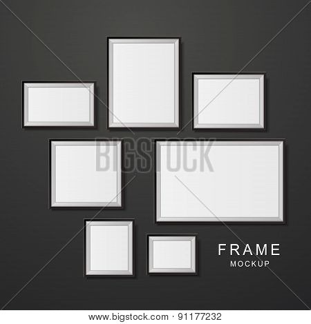 Photo Frame Mockup Set
