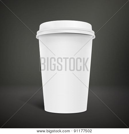 Blank Take-out Coffee Cup