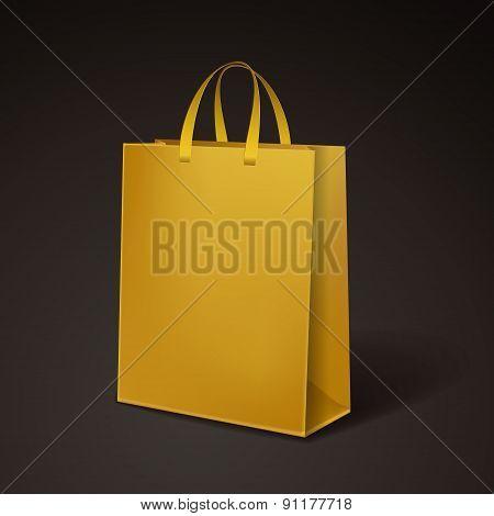 Yellow Paper Bag