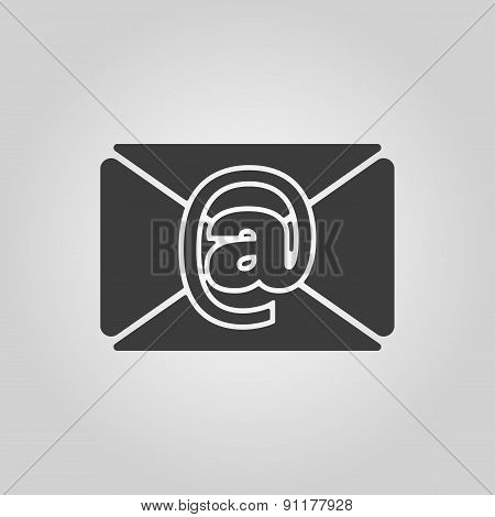 The Email Icon. Mail Symbol.