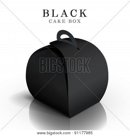 Black Cake Box