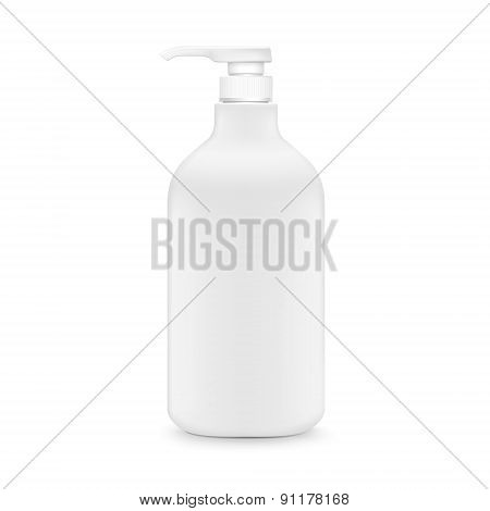 Blank Shampoo Bottle