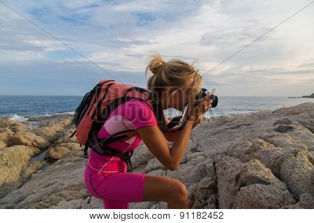 Photographer At Work, Landscape Photography Outdoor