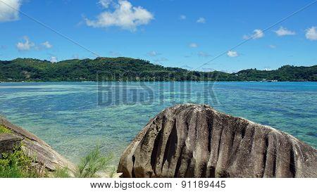 Granite Rocks On Coast