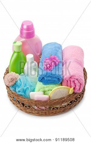 Towels And Shampoo