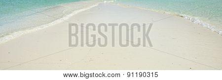 Waves And Sandbar