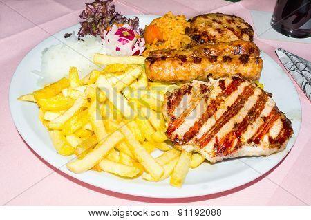 Mixed Grill, Greek Food
