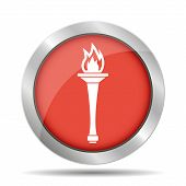 picture of torches  - Torch icon  - JPG