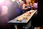 ������, ������: Catering service Modern food or appetizer for events and celebrations