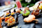 stock photo of catering  - Feed and food - JPG