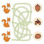 stock photo of maze  - Game for children - JPG