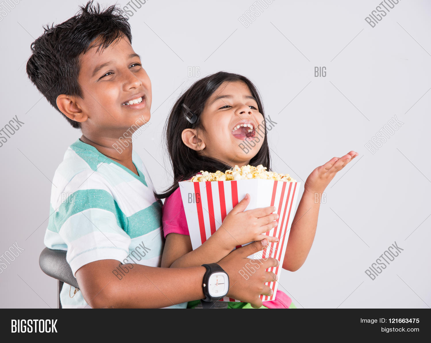 asian little boy girl watching image amp photo bigstock