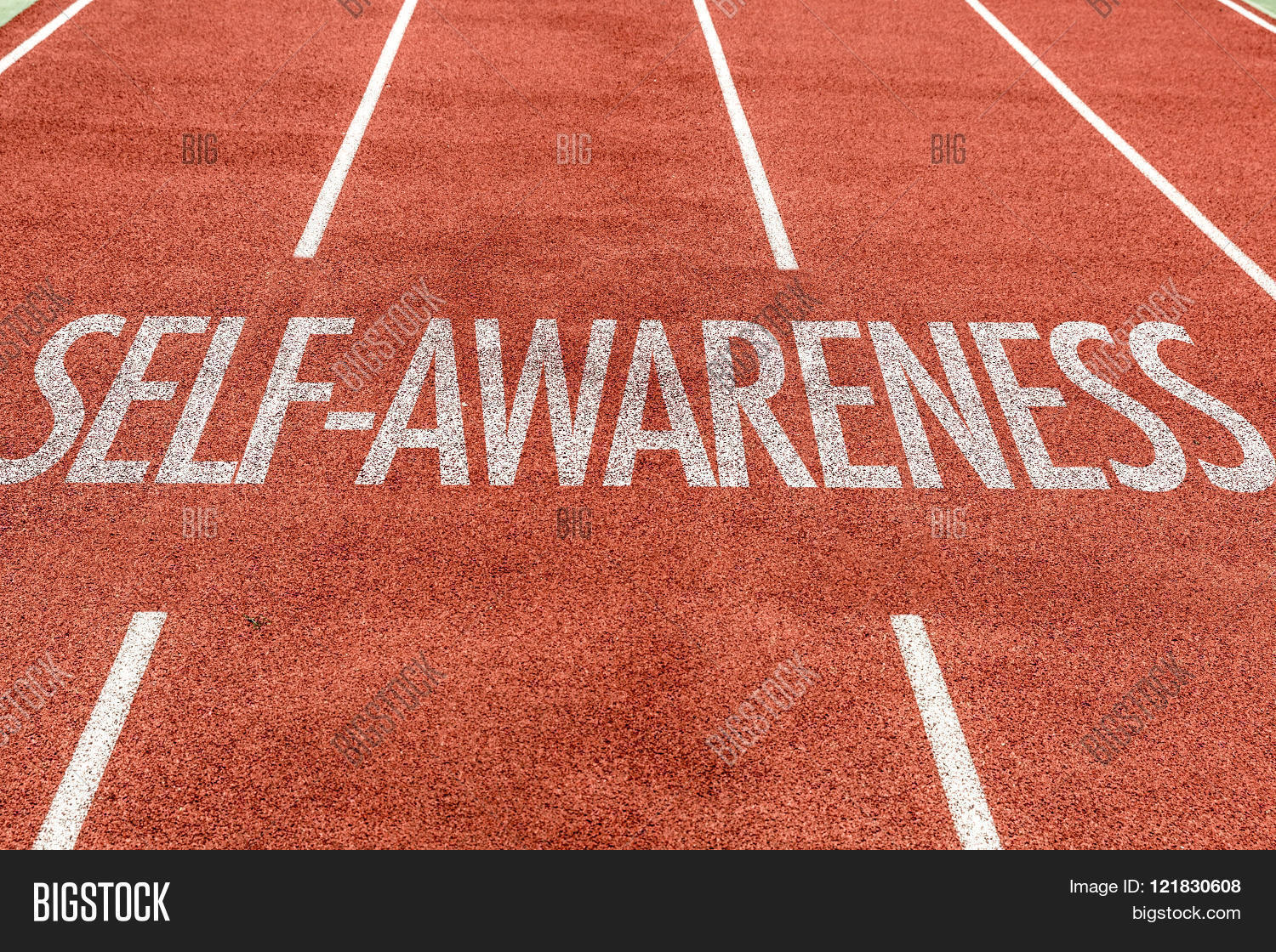 Self-Awareness Written On Running Image & Photo | Bigstock