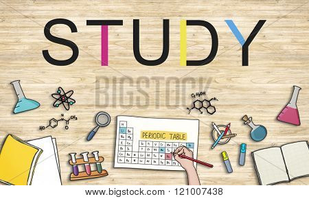 Studying Learning Education Student Insight Concept