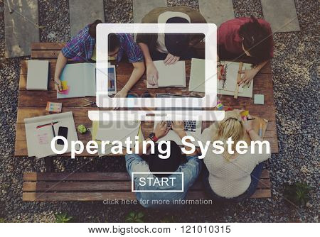 Operating System Operate Working Concept