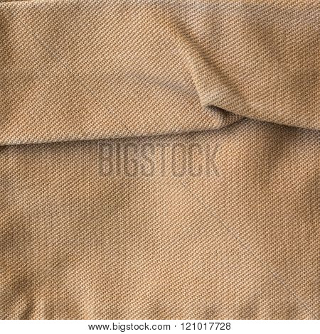brown fabric texture background material of textile industrial