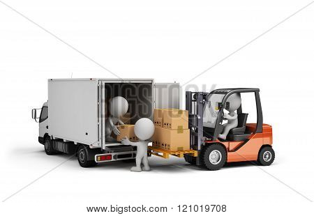 Loading Cargo In The Car