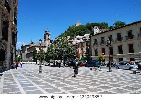 Plaza Nueva, Granada.