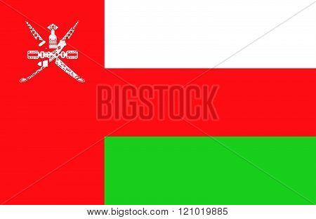 Omani Flag.