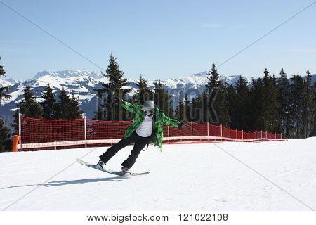 Young Snowboard Man.