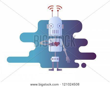 Robot design flat