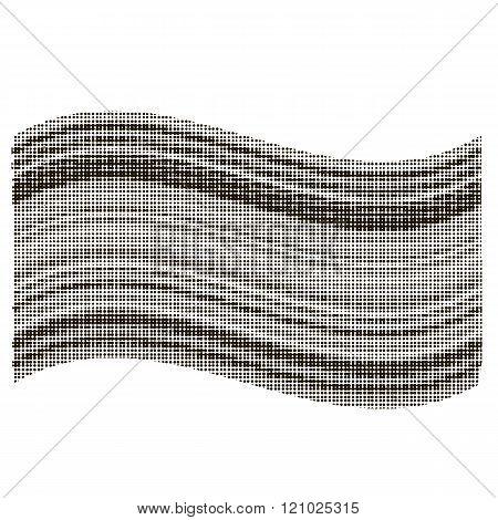 Flag Halftone Texture