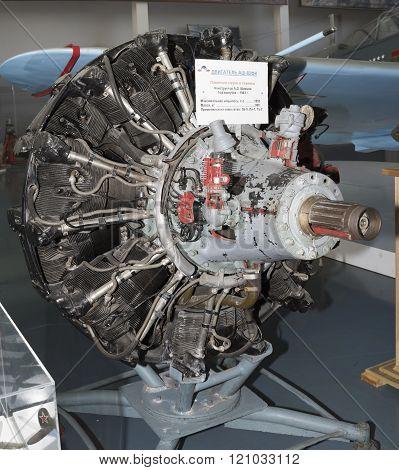 Ash- 82Fn- Engine Aircraft (1943) Maxi. Power, Hp-1850. Used In Aircraft: La-5 And La-7, Tu-2