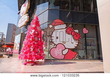 Hello Kitty House Bangkok: Cafe, Shop & Spa