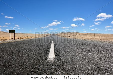Road In Namibia