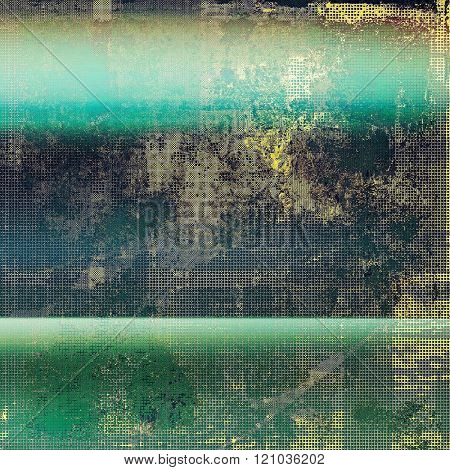 Vintage Template. With different color patterns: yellow (beige); green; blue; black; cyan