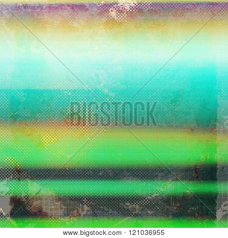 Background with grunge stains. With different color patterns: yellow (beige); green; blue; black; purple (violet)