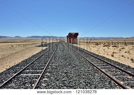 Railway, Namibia, Africa