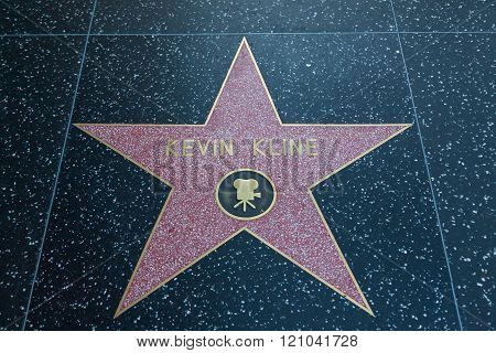 Kevin Kline Hollywood Star