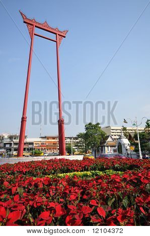 Giant swing in Bangkok