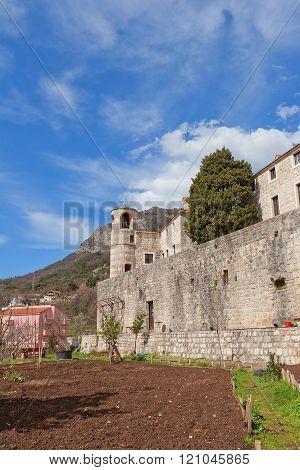 Podostrog (podmaine) Monastery In Budva, Montenegro