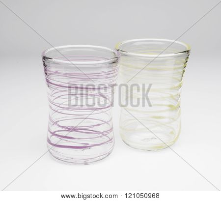 A Pair Of Crystal Drinking Glasses