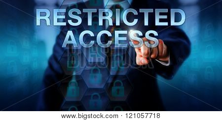Business User Pushing Restricted Access