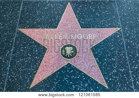 Dudley Moore Hollywood Star