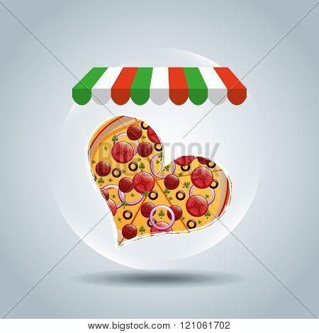 delicious pizza design