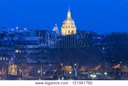 The Invalides Museum, Paris, France.
