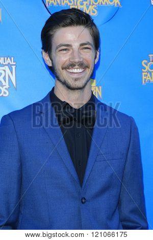 BURBANK - JUN 25: Grant Gustin at the 41st Annual Saturn Awards at The Castaway on June 25, 2015 in Burbank, California,