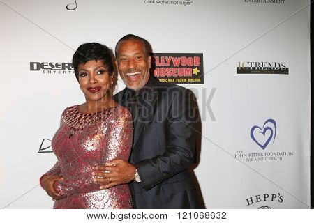 LOS ANGELES - FEB 28:  Sheryl Lee Ralph, Phil Morris at the Style Hollywood Viewing Party 2016 at the Hollywood Museum on February 28, 2016 in Los Angeles, CA