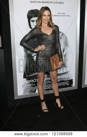 LOS ANGELES - MAR 3: Lauren Shaw at the Premiere of 'The Brothers Grimsby' at the Regency Village Theater on March 3, 2016 in Los Angeles, California